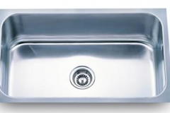 1510 18 GAUGE SINGLE BOWL STAINLESS STEEL SINK