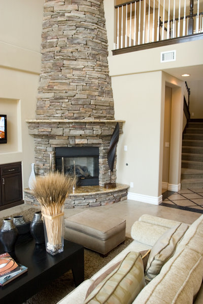 A New Stone Fireplace Mantle Gives Your Home an Elegant Touch