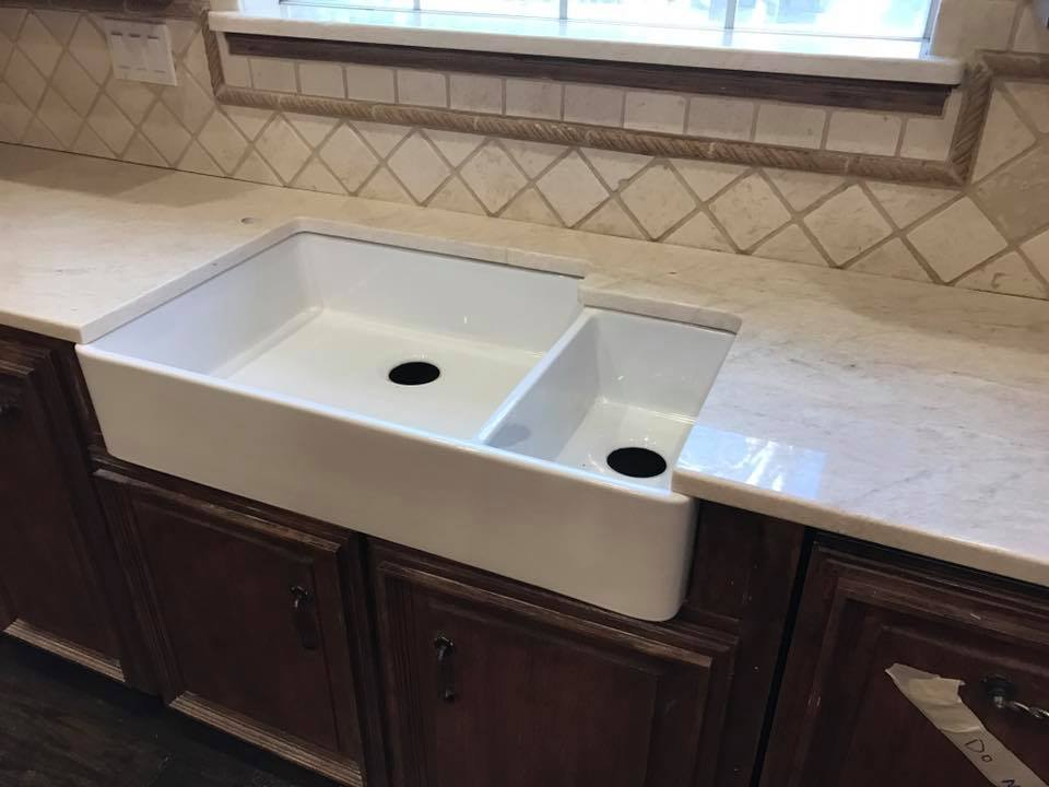 idea sink additional silver corner countertop get backsplash double ten prep with wood reclaimed brown practical dark of space cabinets modern countertops this designs efficient tiled granite floors kitchen contemporary list handles