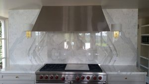 Install a Granite Bookmatched Wall and Remodel with Elegance