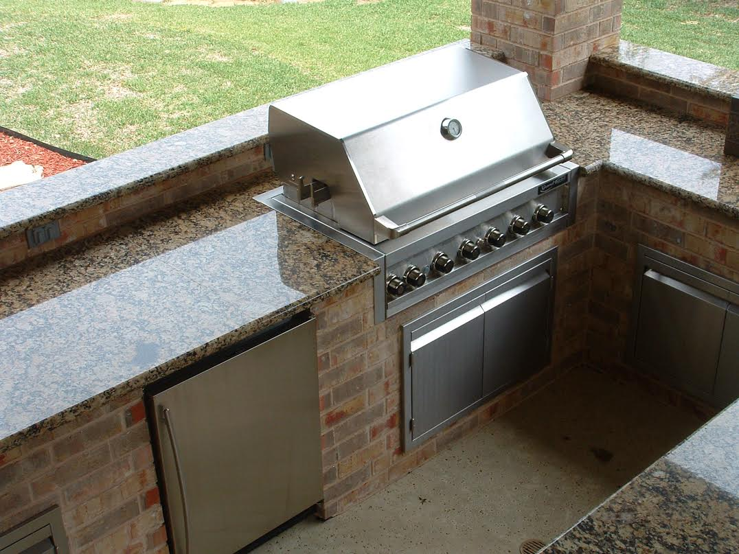 Charmant Choose Granite For Your Outdoor Kitchen!