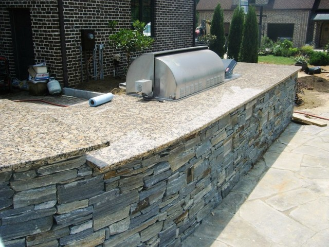 Add Natural Stone To Your Outdoor Kitchen Moreno Granite