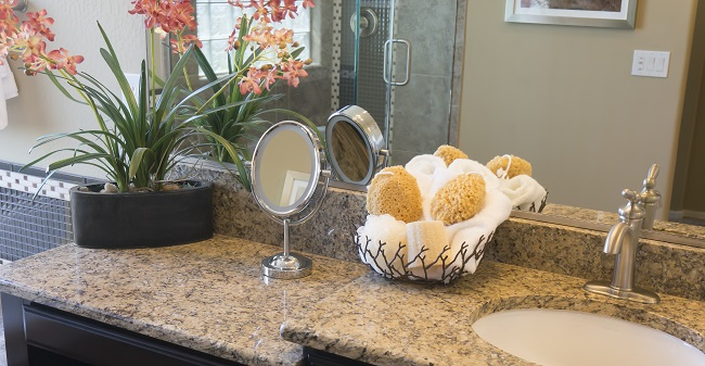 Bring the Durable Beauty of Granite into Your Bathroom