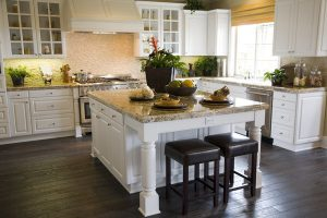 Gather Your Family Around a New Granite Island and Bar