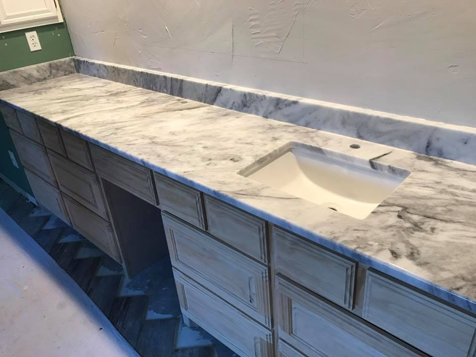 Elegant Marble Countertops for Your Kitchen or Bathroom Remodel