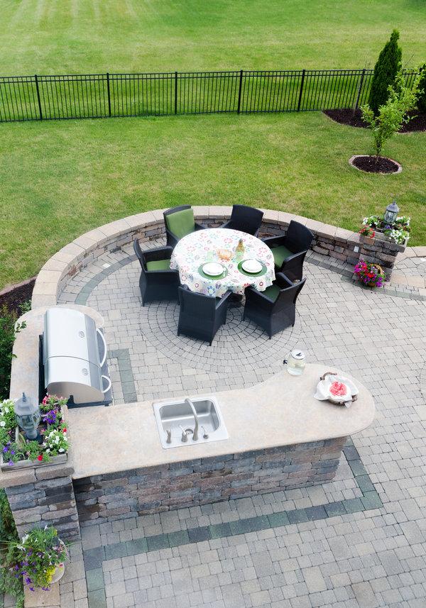 Granite Bar Top For Your Outdoor Kitchen Moreno Granite