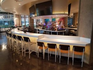 Radius Bar Top for Your Commercial Business